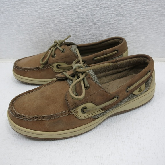 Sperry Topsider Nubuck Leather Two Tone